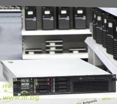 HP ProLiant DL380 G7 Rack Mount 2U А клас 2x Intel Xeon Quad Core E5620 2400Mhz 12MB  16GB DDR3 Registered 2 бр. 146 GB 15000 rpm SAS 2.5 OD 1x Slim DVD   LAN 4x 10 100 1000 PSU 2x 460W Smart Array P410i 1GB Controller with FBWC