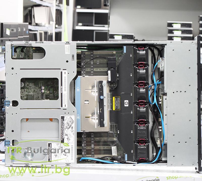 "HP ProLiant DL380 G7 Rack Mount 2U А клас 2x Intel Xeon Quad-Core E5620 2400Mhz 12MB  16GB DDR3 Registered 2 бр. 146 GB 15000 rpm SAS 2.5"" OD 1x Slim DVD   LAN 4x 10/100/1000 PSU 2x 460W Smart Array P410i/1GB Controller with FBWC"