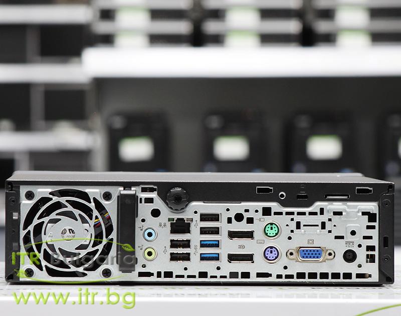 HP EliteDesk 800 G1 USDT А клас Intel Core i5 4590S 3000MHz 6MB 4096MB So-Dimm DDR3L 128 GB 2.5 Inch SSD NO OD Ultra Slim Desktop  Wi-Fi