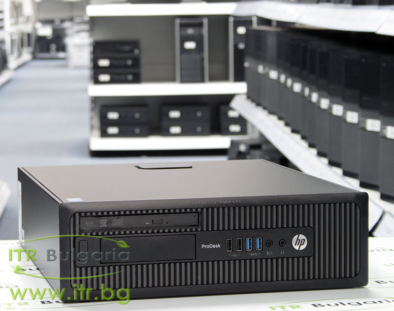 HP ProDesk 600 G1 SFF А клас Intel Core i5 4590 3300MHz 6MB 4096MB DDR3 120 GB 2.5 Inch SSD Slim DVD-RW Slim Desktop