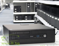 HP ProDesk 600 G1 SFF А клас Intel Celeron Dual Core G1840 2800MHz 2MB 4096MB DDR3 500 GB SATA NO OD Slim Desktop