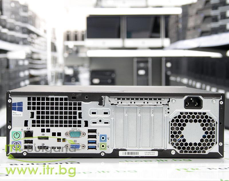 HP ProDesk 600 G1 SFF А клас Intel Core i5 4570 3200MHz 6MB 4096MB DDR3 120 GB 2.5 Inch SSD Slim DVD-RW Slim Desktop