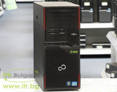 Fujitsu Celsius W420 А клас Intel Core i5 3570 3400Mhz 6MB 8192MB DDR3 1 бр. 500 GB 3.5 SATA DVD MiniTower  Card Reader