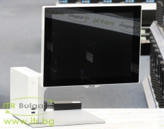AURES SANGO C95 Touchscreen А клас Intel Core i3 3217U 1800MHz 3MB 4096MB 64 GB  All In One 15 1024x768   2.5 Inch SSD, Area Imaging Scanner