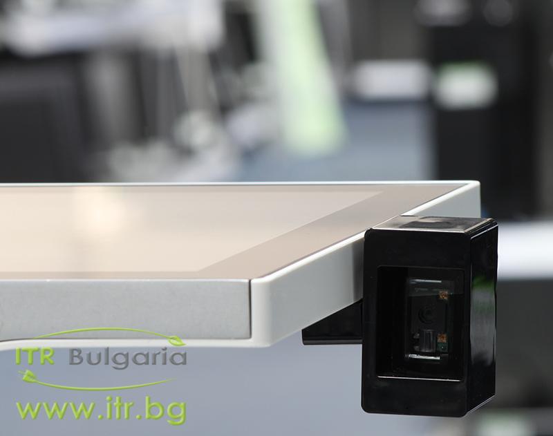 "AURES SANGO C95 Touchscreen А клас Intel Core i3 3217U 1800MHz 3MB 4096MB 64 GB  All-In-One 15"" 1024x768   2.5 Inch SSD, Area-Imaging Scanner"