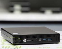 HP ProDesk 600 G2 DM А клас Intel Core i3 6100T 3200MHz 3MB 8192MB So Dimm DDR4 128 GB 2.5 Inch SSD  Desktop Mini  Wi Fi