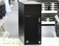 HP Workstation Z230 Tower А клас Intel Xeon Quad Core E3 1225 v3 3200Mhz 8MB 16GB DDR3 ECC 1 бр. 1 TB 3.5 SATA Slim DVD RW Tower  nVidia Quadro NVS 315 1024MB PCI E DMS 59 Card Reader