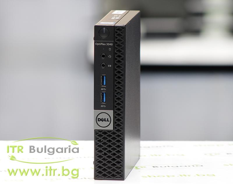 DELL OptiPlex 3040 А клас Intel Core i5 6500T 2500MHz 6MB 8192MB So-Dimm DDR3L 128 GB 2.5 Inch SSD NO OD Desktop Mini