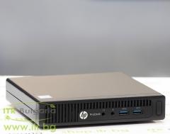 HP ProDesk 400 G2 DM А клас Intel Core i5 6500T 2500MHz 6MB 8192MB So Dimm DDR4 128 GB 2.5 Inch SSD NO OD Desktop Mini