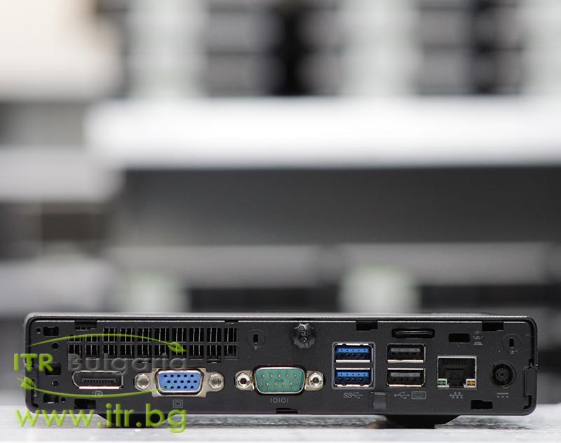 HP ProDesk 400 G2 DM А клас Intel Core i5 6500T 2500MHz 6MB 8192MB So-Dimm DDR4 128 GB 2.5 Inch SSD NO OD Desktop Mini