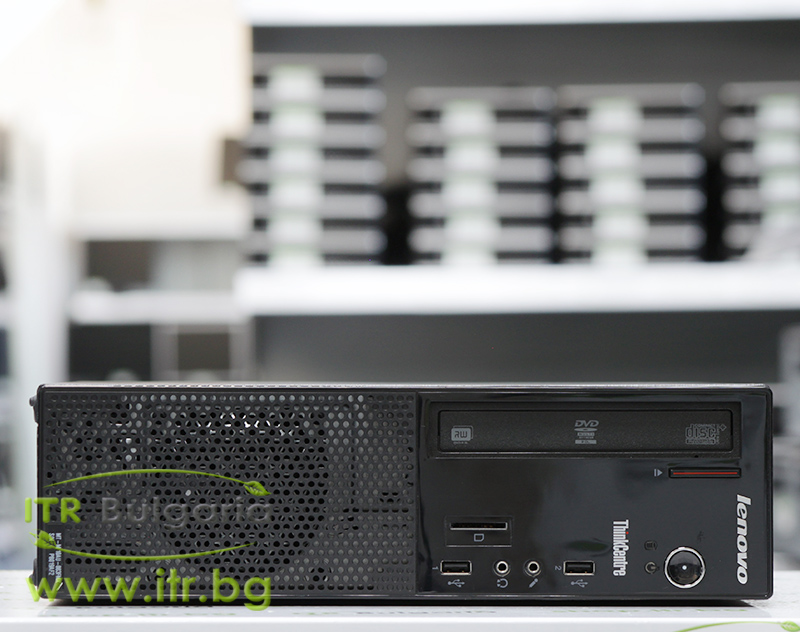 Lenovo ThinkCentre Edge 73 А клас Intel Core i3 4130 3400MHz 3MB 4096MB DDR3 500 GB SATA DVD-RW Slim Desktop  Card Reader