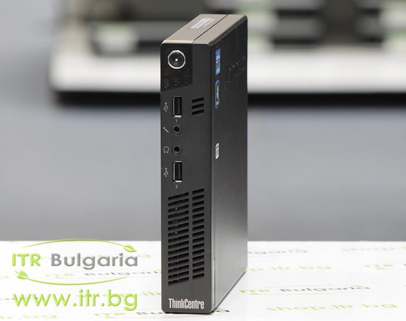 Lenovo ThinkCentre M72e А клас Intel Core i5 3470T 2900MHz 3MB 8192MB So-Dimm DDR3 128 GB 2.5 Inch SSD NO OD Tiny Desktop