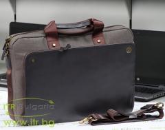 Чанти за лаптопи-HP-Executive-Brown-Top-Load-Нов