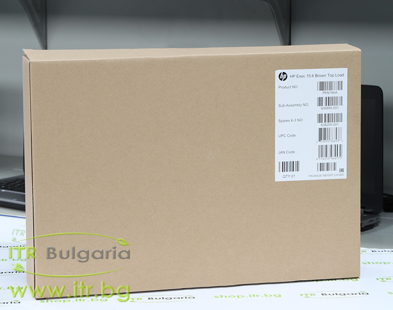 "HP Executive Brown Top Load Нов 15.6"" P6N19AA for Notebook"